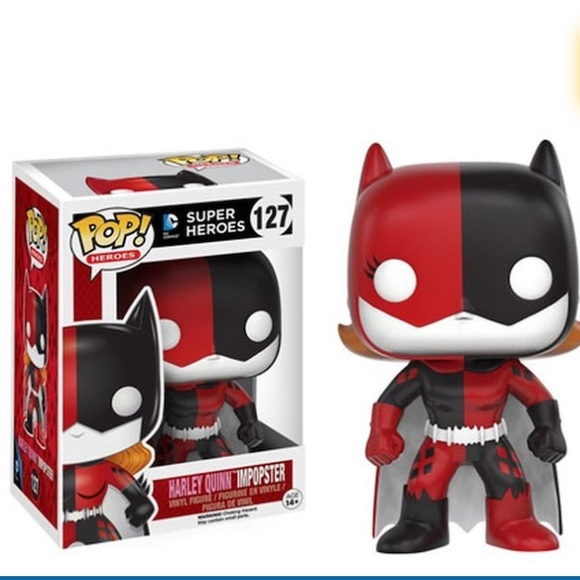 Funko Other - Funko POP Harley Quinn Impopster